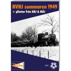 NVHJ (Norsholm-Västervik-Hultsfreds Järnvägar) sommaren 1949 & KBJ (Kalmar-Berga Järnväg) + MÅJ (Mönsterås-Åseda Järnväg)